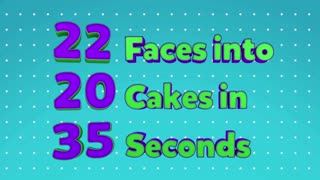 The Ultimate Cake In Face Compilation - Video