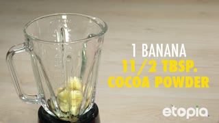 Delicious Banana And Chocolate Smoothie - Video