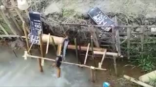Awesome Water Wheel Music