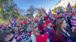 MAGA MARCH TRUMP's RALLY in DC