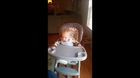 Baby Rocking Out To Rage Against The Machine