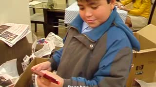 Boy Gets Surprise Birthday Gift - Video