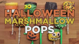 Halloween Marshmallow Pops - So Good They're Scary! - Video