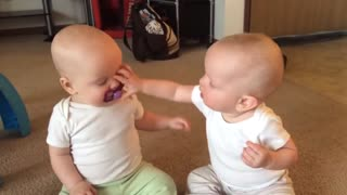 Twins Baby Switch Over Pacifier ' Baby Silent Toozer '