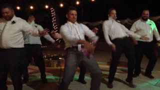 Groom Surprises Wife With A Dance He Choreographed 2 Night Before Wedding  - Video