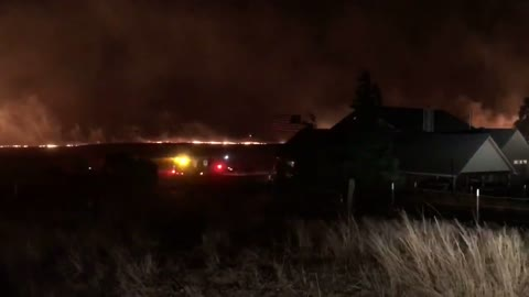 Firefighters Save Home and American Flag from Blaze