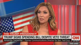 Amanda Carpenter: Republican voters on Trump signing the Omnibus Bill - Video
