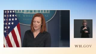 Watch as Psaki Says Biden Can Travel But We Can't