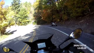 Motorcycle Crash on WV Rt 219