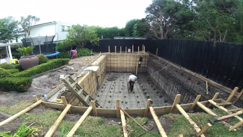 Swimming Pool Construction From Start to Finish
