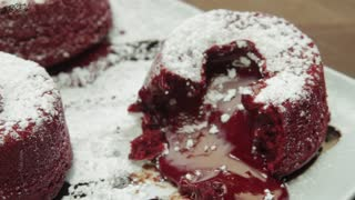How to Make Red Velvet Lava Cakes – Full Step-by-Step Video Recipe - Video