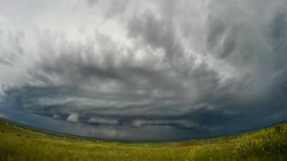 Stunning Time Lapse of Storm