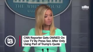 Fake News Gets Owned by Kayleigh McEnany