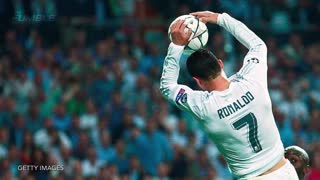 Cristiano Ronaldo Tries to Dunk Ball During Game - Video