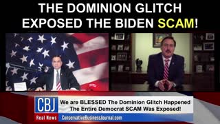 My Pillow CEO and Founder Mike Lindell Shares how The Dominion Glitch EXPOSED The Biden Scam!
