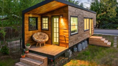 Woman Builds A Beautiful Tiny House
