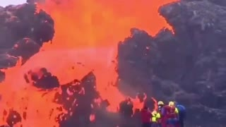 Iceland eruption after 800 years !