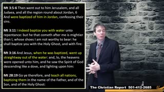 TCR-Nobody cares what you say about baptism!