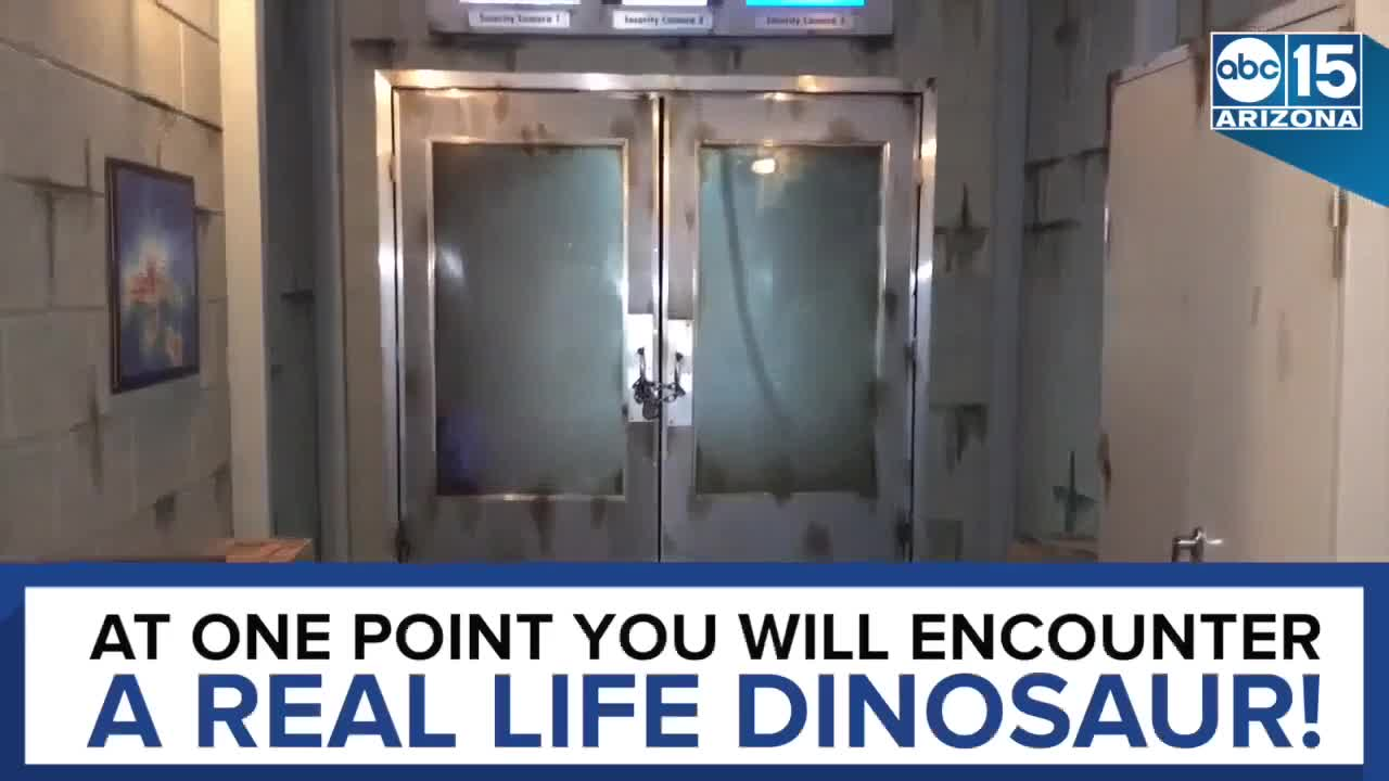 DINO DNA! Be the hero at the Jurassic Escape Room in Arizona - ABC15 Digital