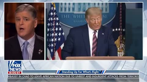 FORMER PRESIDENT TRUMP IS LIVE ON SEAN HANNITY 4_19_21