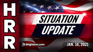 Mike Adam's Situation Update, Jan. 16th, 2021 - Psyop revealed, DC prepares for large-scale WAR