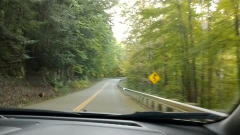 Drive around Mohican state Park