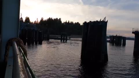 Time Lapse of a ferry ride to Seattle