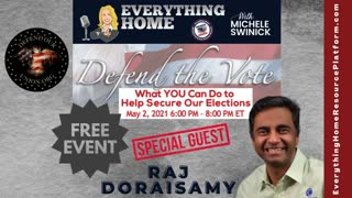 Defend The Vote - FREE Online Summit - May 2 - Mike Lindell, Patrick Byrne, Jovan Pulitzer + More