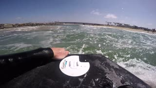 Bodyboarding POV - Video