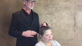MAKEOVER: I Thought He'd Chop Off More, by Christopher Hopkins, The Makeover Guy® - Video
