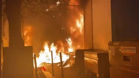 ANTIFA Rioters in Portland Light an Apple Store on Fire in GRUESOME Footage