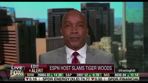 Kevin Jackson Responds to ESPN Max Kellerman's Attack on Tiger Woods