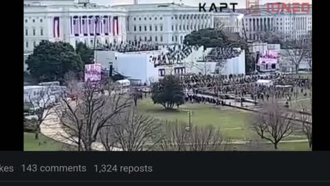 Another POV of the 2021 Presidential Inauguration