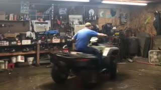 Indoor ATV Fun - Video