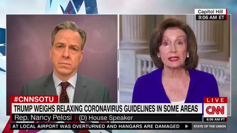 Speaker Pelosi blames coronavirus deaths on Trump #2