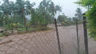 Tropical Storm Footage from Samoa - Video