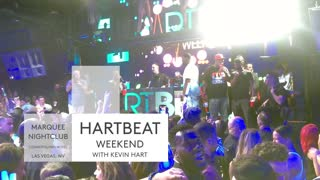 Kevin Hart hosts HARTBEAT Weekend at The Cosmopolitan in Las Vegas - Video