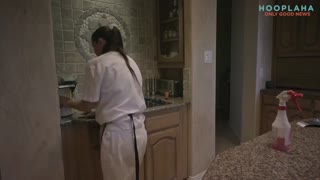 Woman Fighting Cancer Get The Gift Of Free Cleaning - Video