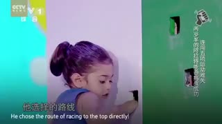 Adorable Iranian kid on China's Got Talent - Video