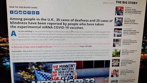 In The UK There Are Almost 200,000 Adverse Vaccine Reactions