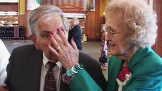 Cute Senior Couple Tells It Like It Is After 65 Years Of Marriage - Video