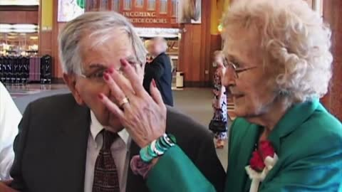 Cute Senior Couple Tells It Like It Is After 65 Years Of Marriage