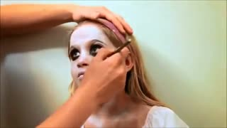 Makeup Ideas Halloween Makeup Zombie Ghost - Video