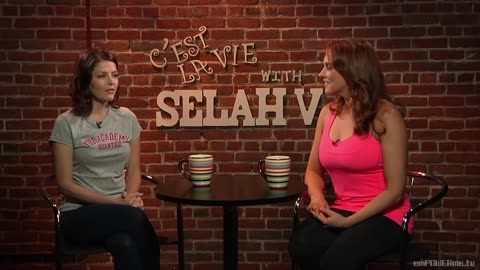 Actress Jen Lilley on C'est la Vie with Selah V