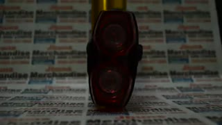 Raypal 2LEDS Bicycle Tail Light - Video
