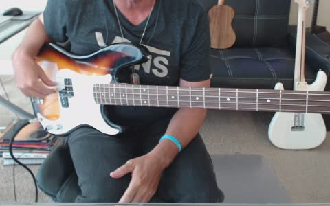 Bass tab preview for