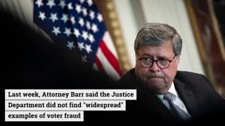 US Attorney General William Barr reportedly on the cusp of resigning