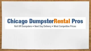 dumpster rental prices chicago - Video