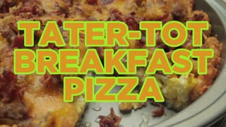 How to Make Tater-Tot Breakfast Pizza - Full Step-by-Step Video Recipe - Video