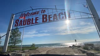 Sauble Beach Time lapse